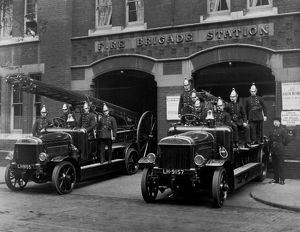 LCC-LFB Tooley Street fire station and its crews
