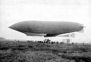 Lebaudy airship Republique, 24 June 1908