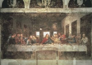 "Church and Dominican Convent of Santa Maria delle Grazie with ""The Last Supper"" by (Selection of 9 Items)"