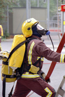 LFCDA-LFB Recruits undergoing basic training
