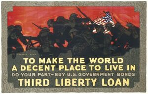 LIBERTY LOAN/WWI POSTER