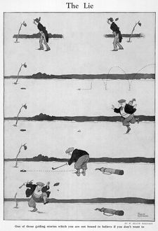 The Lie by William Heath Robinson
