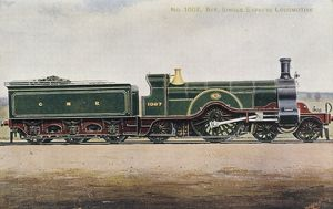 Locomotive no 1007 4-2-2