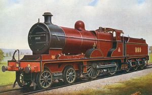 Locomotive no 999 4-4-0