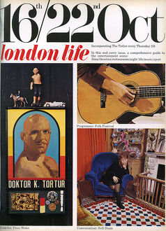 London Life front cover 1965, Peter Blake, Nell Dunn
