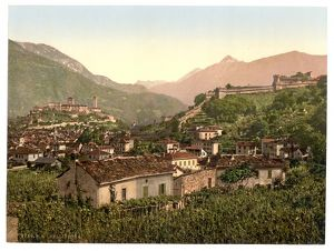 Lugano, Bellinzona, Tessin, Switzerland