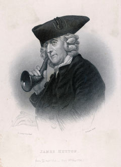 MAN WITH EAR TRUMPET C18