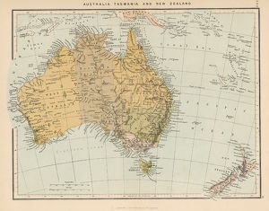 MAPS/AUSTRALIA / NEW ZEA