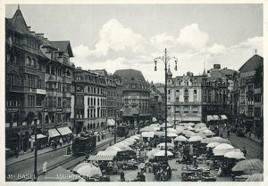 new images grenville collins collection/marketplace basel northwestern switzerland