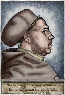 martin luther 1483 1546 german reformer portrait