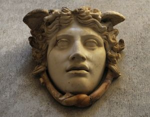 Medusa Rondanini. Roman copy of a classical work of the 5th