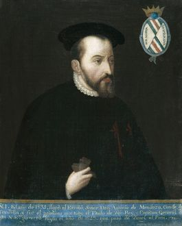MENDOZA, Antonio de (1450-1552). Viceroy of Mexico