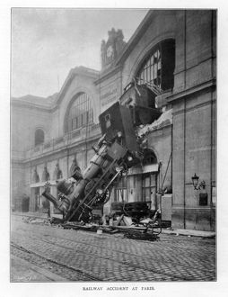 MONTPARNASSE ACCIDENT