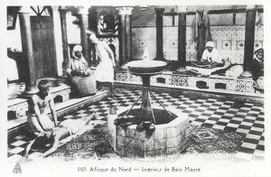 new images grenville collins collection/moorish bathhouse algeria