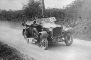 Motor racing near Haverfordwest, Pembrokeshire, South Wales