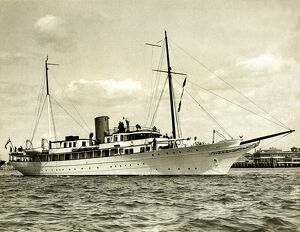 Motor yacht 'Vita' owned by Sir Thomas Sopworth, 1920s