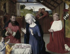 Moulins, Master of (1450-1505). The Nativity