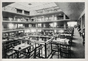 new images grenville collins collection/naafi alexander club rome italy snack floors