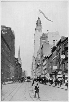 NEW YORK/BROADWAY 1895