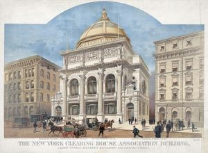 The New York Clearing House Association building. Cedar Stre