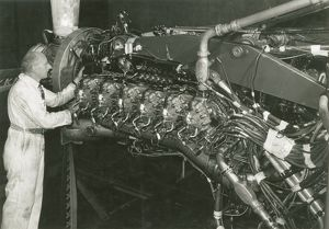 Nomad II engine at the Coronation Road Test Tunnels