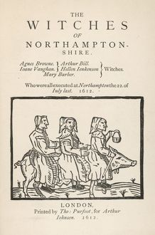 NORTHAMPTONSHIRE WITCHES