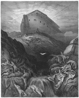Old Testament, Noah's Ark on Mount Ararat