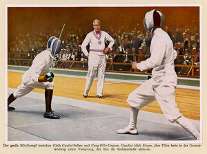OLYMPICS/1932/FENCING