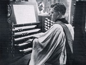 Organist at the Royal Wedding