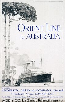 Orient Line poster