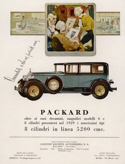 PACKARD IN ITALY 1928