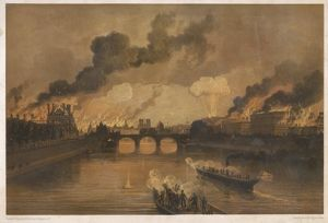 PARIS ABLAZE/1871