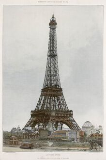 PARIS/EIFFEL TOWER 1889