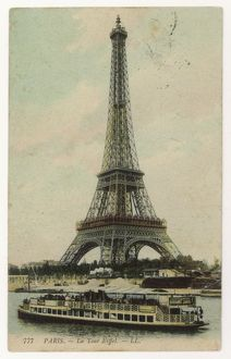 PARIS/EIFFEL TOWER 1908