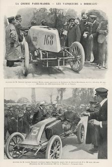 PARIS-MADRID RACE 1903