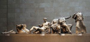Parthenon. East Pediment. Acropolis, Athens. 438-432 BC. Bri