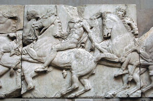 Parthenon. North frieze. XLI. Riders