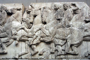 Parthenon. North frieze. XLIII. Riders