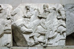 Parthenon. North frieze. XLIV-XLV. Riders