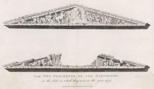 PARTHENON PEDIMENTS 1674