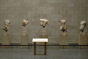 Parthenon. Sculptures from the West Pediment. British Museum