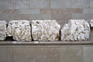 Parthenon. South frieze. 447-432BC. Scene sacrifice. British