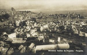 Pergamon, Turkey - The latest excavations (1908)