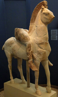Persian rider. Greece. VI century B.C