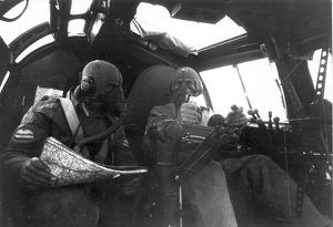 The pilots of a Heinkel He111