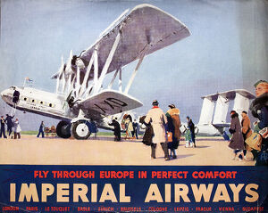 Poster, Imperial Airways
