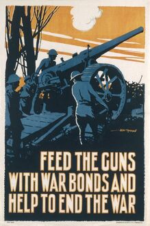 POSTER FOR WW1 WAR BONDS