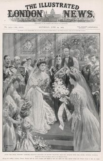 Prince Gustaf Adolf and Princess Margaret of Connaught wed