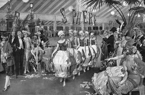 Procession of fancy dress costumes at the Epilogue Ball