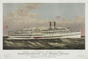 Providence and Stonington Steamship Co's. steamers, Massachu